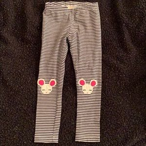Stripe mouse leggings
